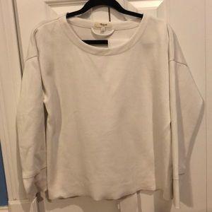 Madewell tie-waist sweatshirt