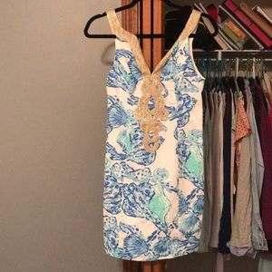 Sea shell Lilly pultizer dress