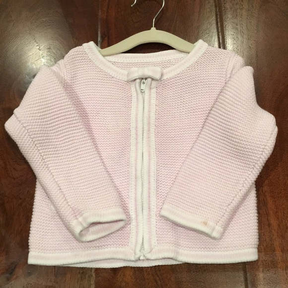 69% off Jacadi Other - Jacadi light pink sweater size 18 mos from ...
