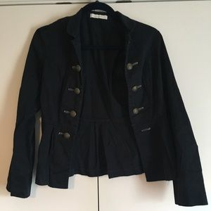 Charlotte Russe Size Small Navy Military Jacket