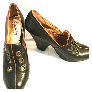 Seychelles Black Special Edition Heels Size 7