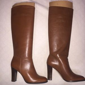Banana Republic LANA Brown Leather Boots 7.5