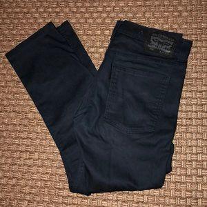 Levi's 508 slim taper stretch jeans. Blue. 31x30