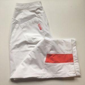New NIKE DRI-FIT white pants sz S