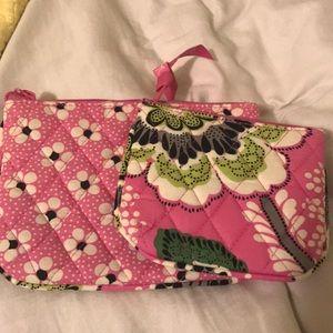 Vera Bradley small travel bags