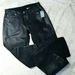 BDG NWT Urban Outfitters Hi Rise Coated Jeans Sz 9