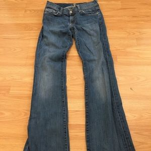 7 For All Mankind the skinny boot