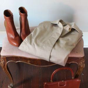 Classic Ivory Trench Coat