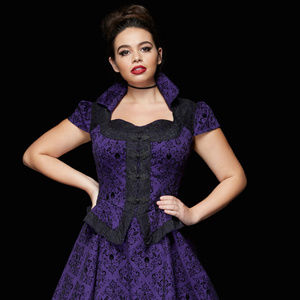 889ede7af23 torrid Dresses - Torrid Once Upon A Time Regina Swing Dress