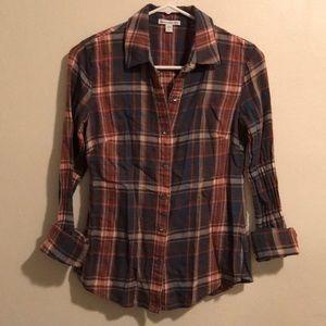 James Perse plaid shirt