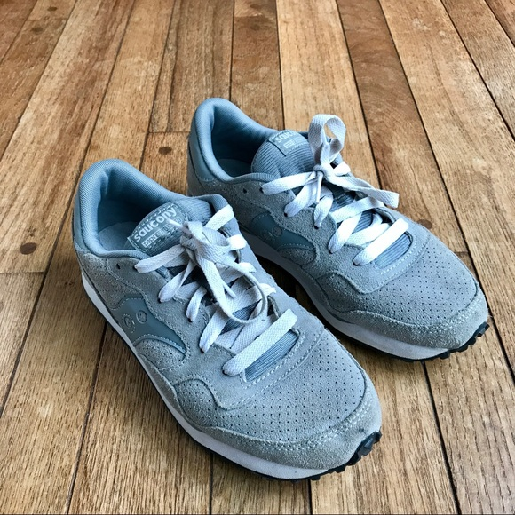 0a9134c52d1f Saucony   Madewell gray DXN trainers. M 5a120db86a5830d6a309e8e0