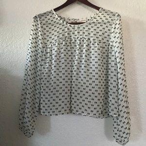 Merona shear blouse