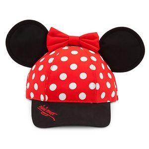 Minnie Mouse baseball trucker hat with ears