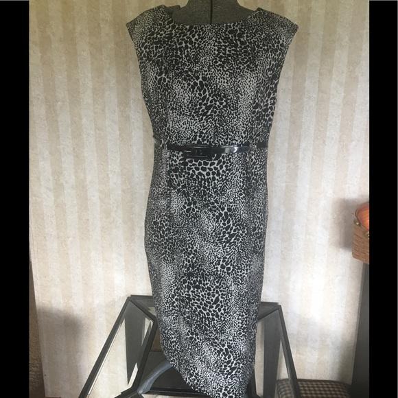 Calvin Klein Dresses & Skirts - Calvin Klein Belted Sheath Dress