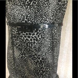 Calvin Klein Dresses - Calvin Klein Belted Sheath Dress