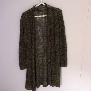 Eileen Fisher Long Knit Cardigan Sweater