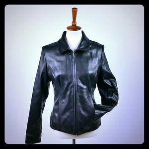Apt. 9 Black Leather Jacket