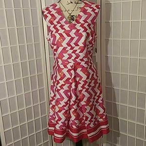 Geometric dress Sandra Darren