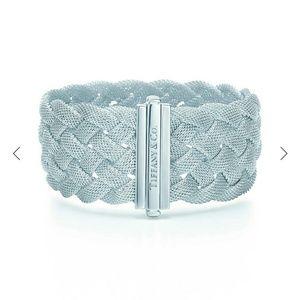 Tiffany & Co. Braided Mesh Bracelet