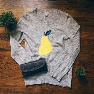 A Cute Pear Sweater