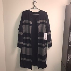 NWT Reversible Sweater Coat