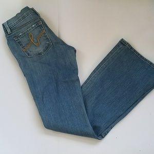 Bebe jeans wide leg good condition sz 27