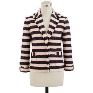 J.Crew Collection Legion Stripe Jacket