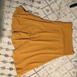 LuLaRoe Azure Skirt - Mustard Color