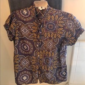 Gap button down blouse