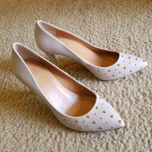 J.crew pink pumps with stoods