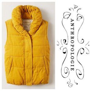 Corduroy Puffer Vest