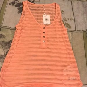 Brand new guess tank top!