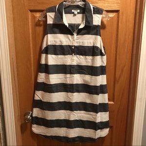 Old Navy Sleeveless Striped Dress