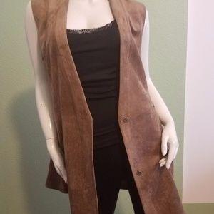 BCBG Max Azria Long Vest NWT