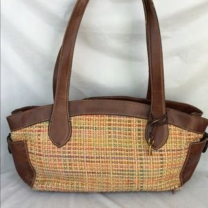 Fossil woven bag