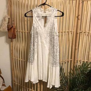 LF Mika & Gala white lace dress