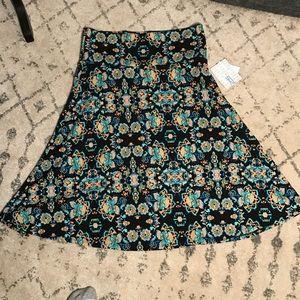 LuLaRoe Azure Skirt - NWT