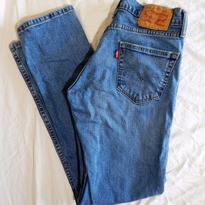 Like New Men's Levi's 511 Slim Leg Jeans 30x32