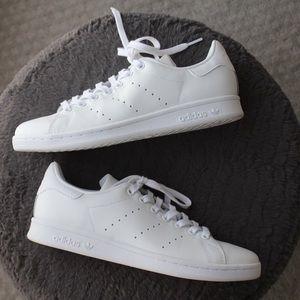 Men's All White Adidas Stan Smith