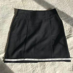 Banana Republic black skirt.
