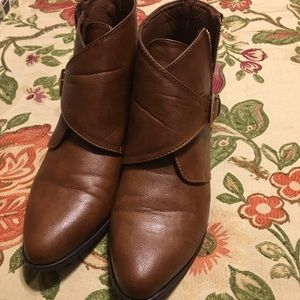 Size 8.5 booties by Bamboo