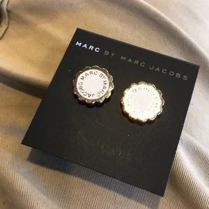 Marc By Marc Jacobs Button Earrings NWT $48-