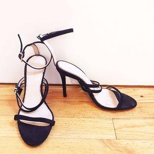 Zara Strappy Black Heels Sz 36