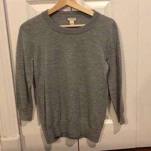 J Crew Factory Charley merino sweater
