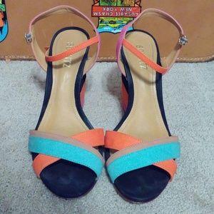 SCHUTZ Multicolor Sandal Size 40/9