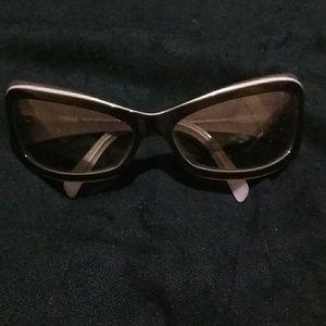 Authentic Lavender & Chocolate Versace sunglasses