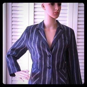 CAbi🌺Adorable LINEN blend Jacket!🌺EUC!
