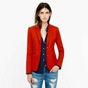 JCrew red schoolboy blazer 0