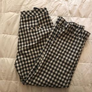 Gingham Slacks / Culottes