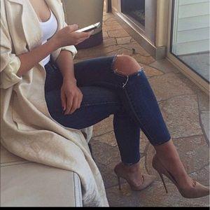Brand new!! ASOS pointed Suede brown heels pumps
